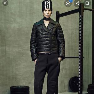 Alexander Wang x H&M leather puffer jacket